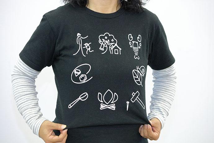 オリジナルTシャツの売上げも重要な資金源に