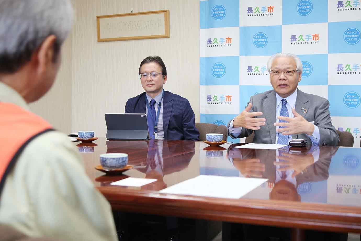 人と人がつながる新しいプラットフォームをつくることで、地域社会に貢献したいと語る増田副社長