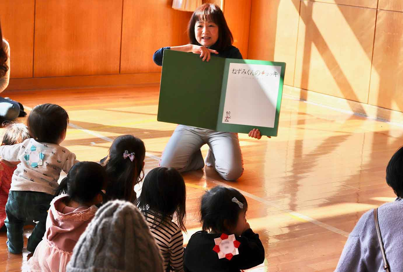 西児童館でイベントをおこなう篠原朋子さん