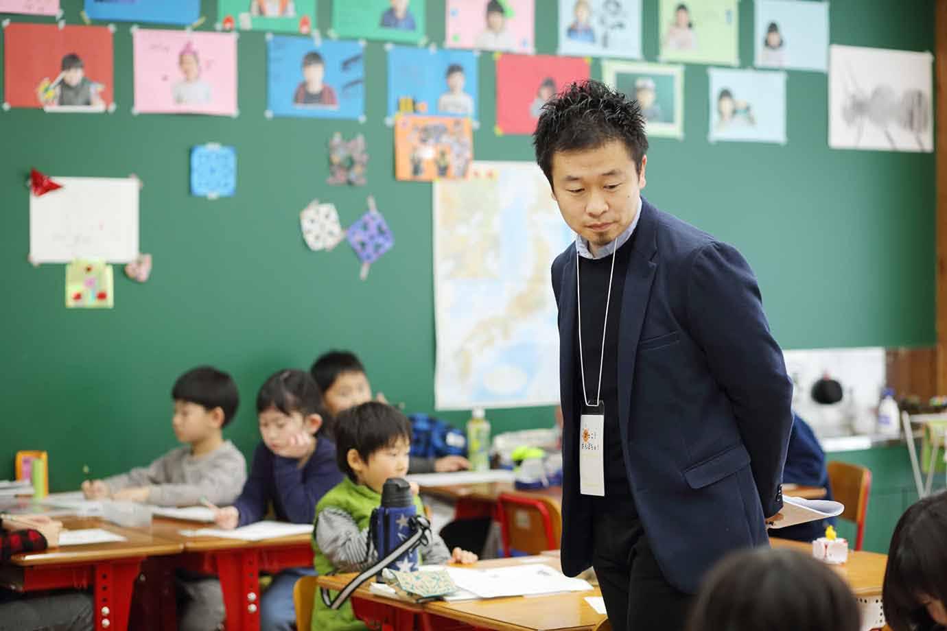 「きっちりとしたルールがない中でも、時々に合わせて考えながら行動する子どもたちに感心しました」と久保さん
