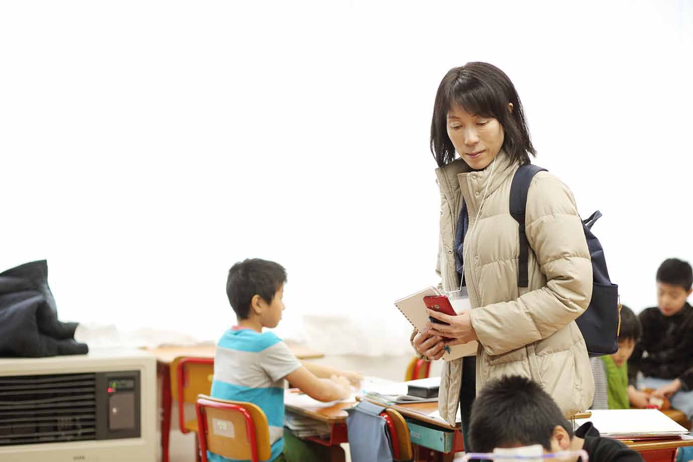 佐藤からは「子どもの個性を引き出すためには、一人ひとりと向き合った考え方、教育のプロセスを保護者も一緒に考えることが大切」と母親目線の感想も