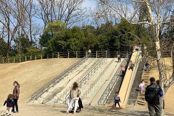 愛知県森林公園の児童遊園地