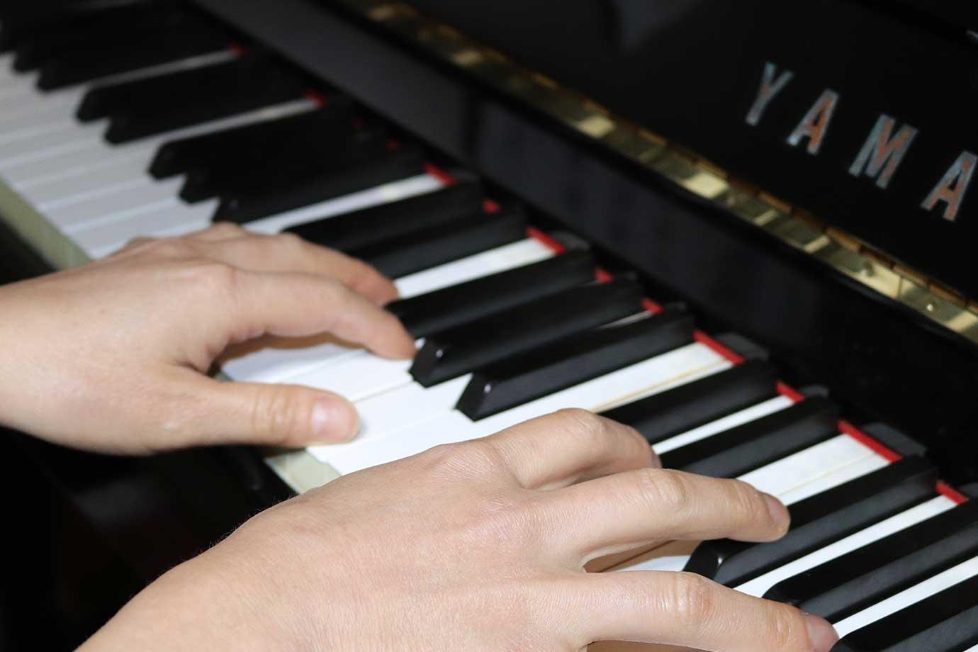 思い切りピアノを弾いてストレス解消