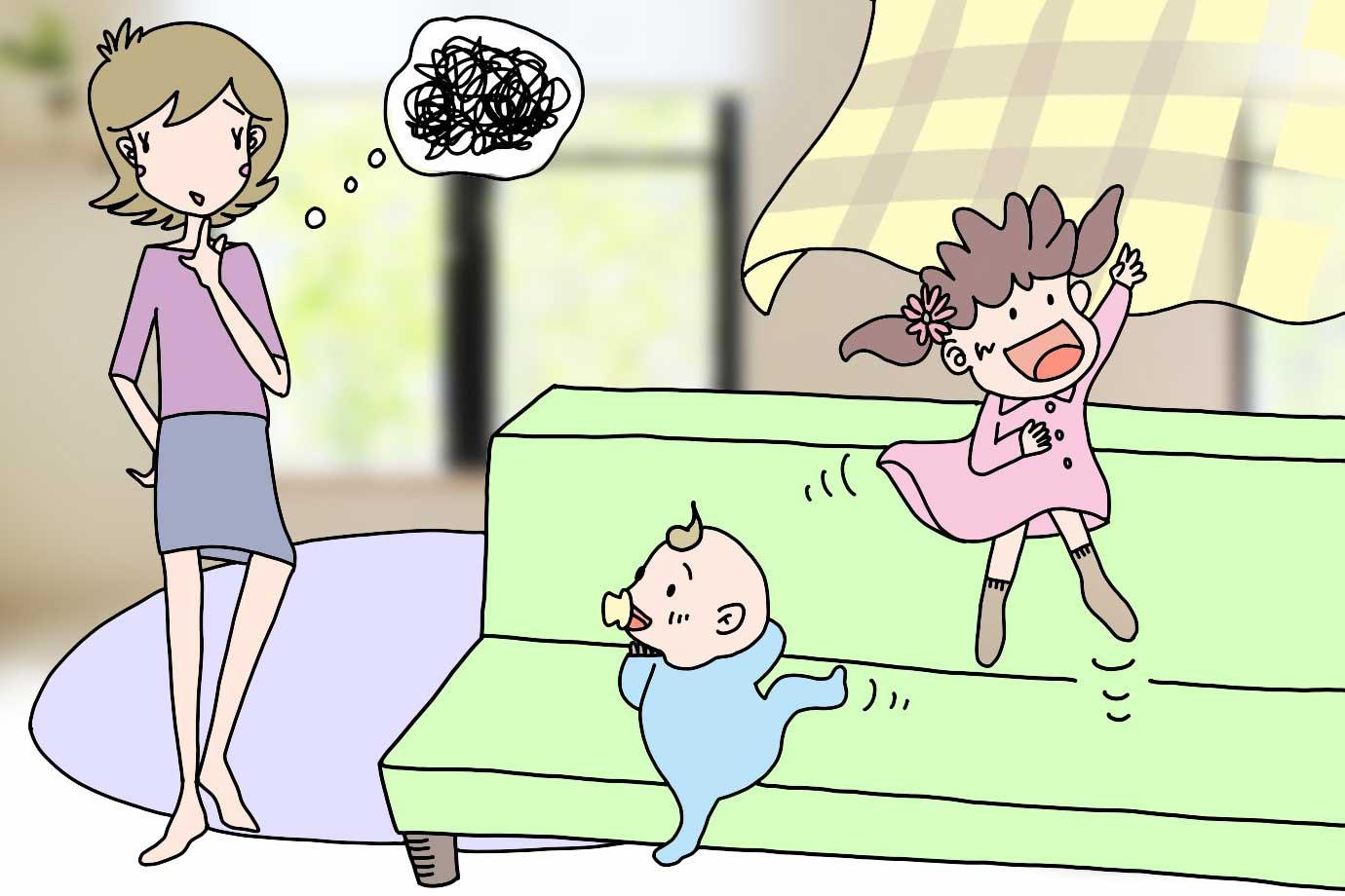 子どもの年齢と関係なく、叱るときは一貫して同じ態度をとるようにしましょう