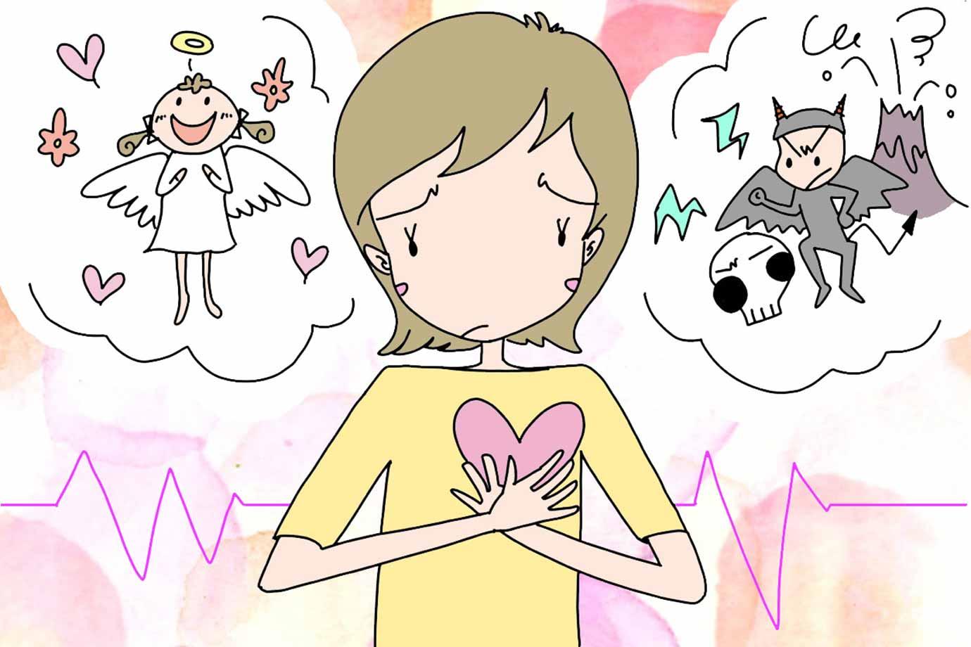 イライラは自分の気持ちとのズレ?なぜイライラの気持ちが起こるのでしょう