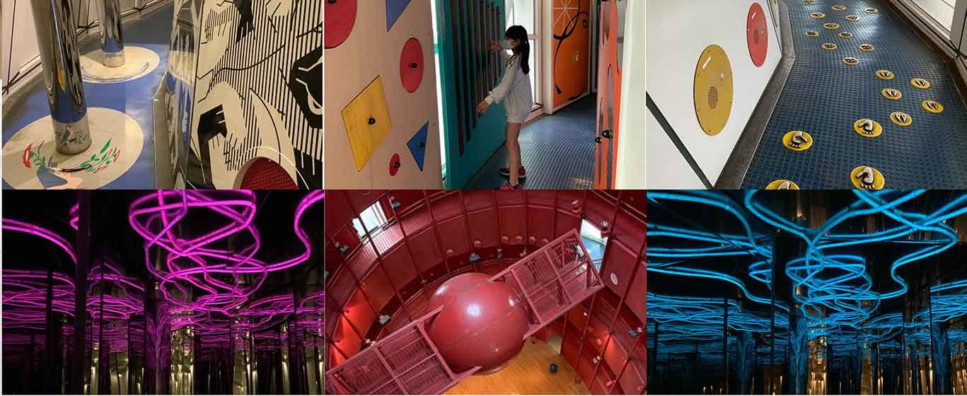 愛知県児童総合センターのチャレンジタワー