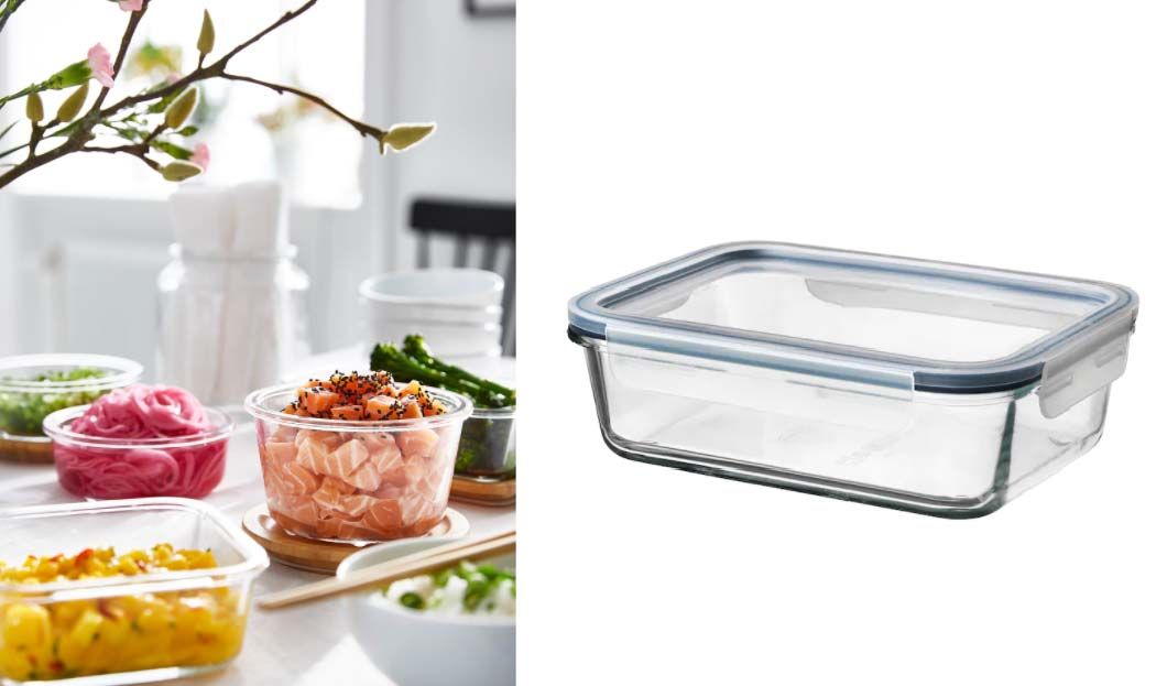 サステナブルな食品の鮮度を保つ保存容器
