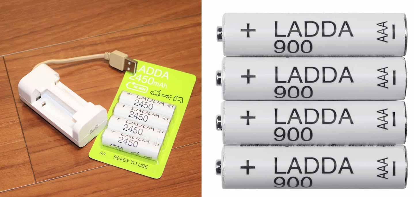 サステナブルな充電式乾電池