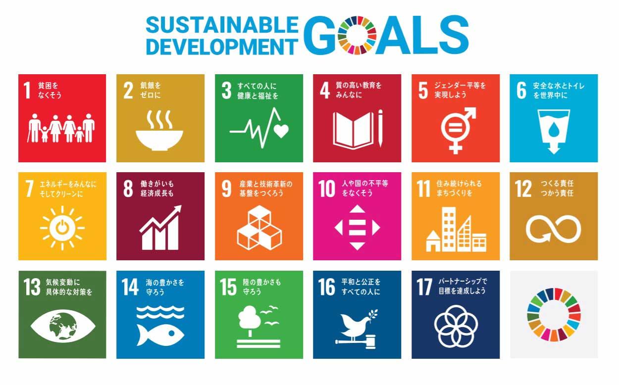 国際目標として掲げられているSDGsとは?