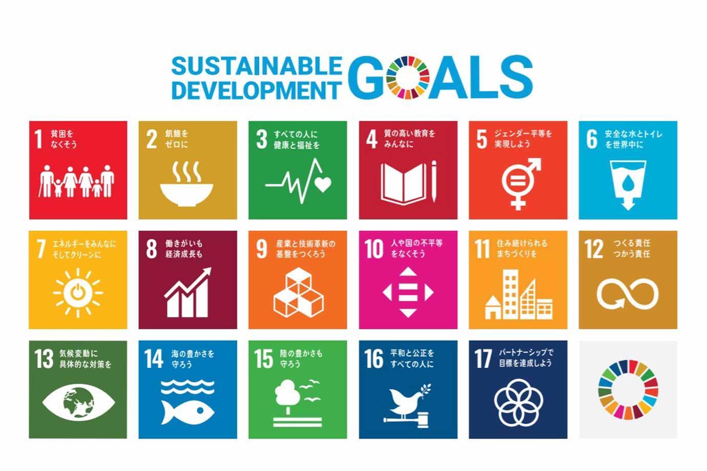 SDGs17の国際目標
