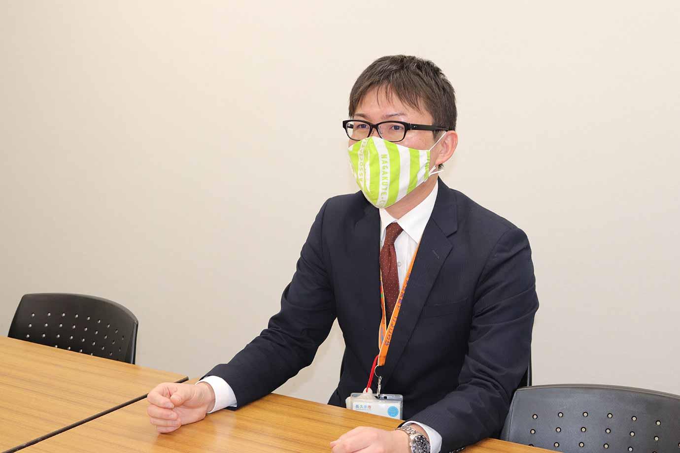 小学生の頃から長久手市に住んでいて、愛知県内の大学に進学した大久保さん。 長久手市役所へ入庁したのは2009年です