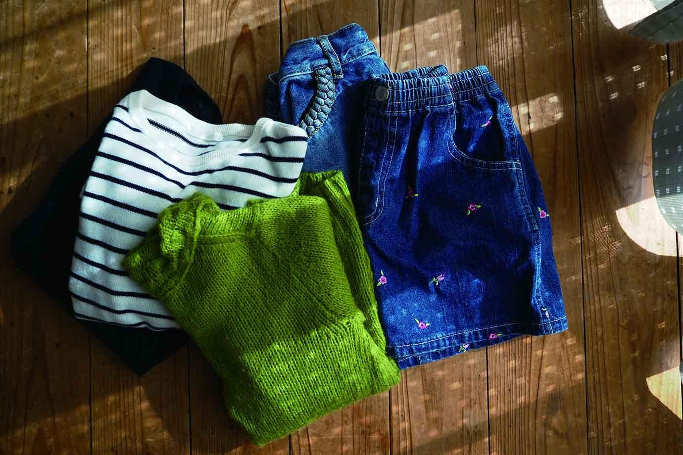 いらない服も、リユースに出せば地球にやさしいサスティナブルな暮らしにつながります