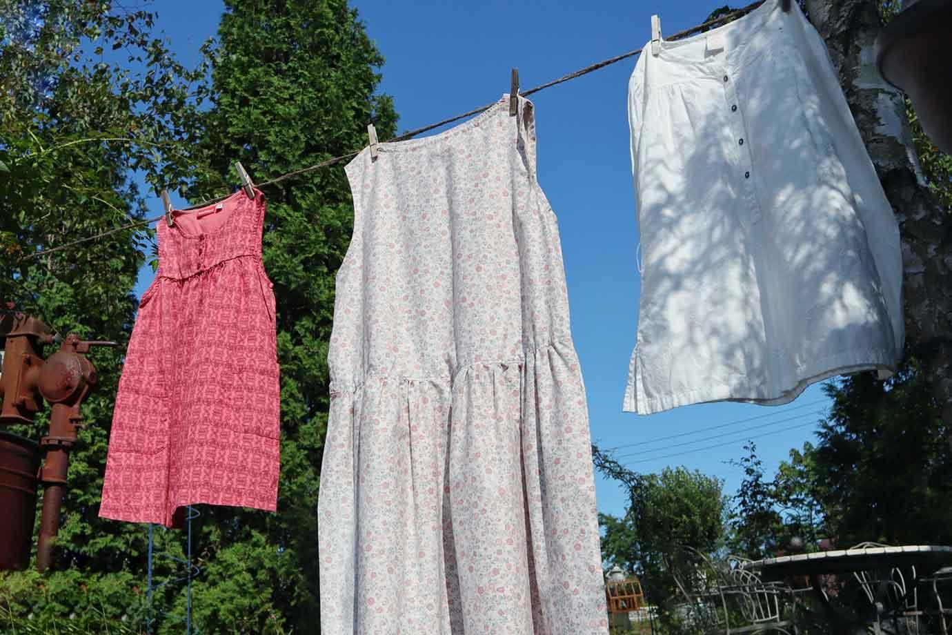 サスティナブルファッションは、服を買うときにだけ意識するものではありません。