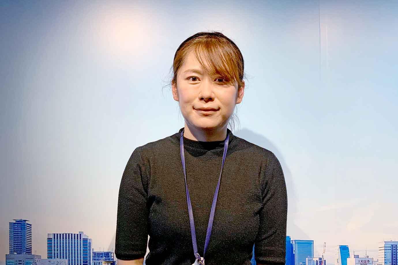 中部電力 MIRAI TOWER 事業部の大澤さん